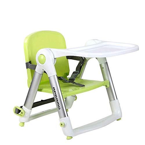 WYJW kinderstoel Children's, baby eetstoel, opvouwbare draagbare eettafel en stoel, lichtgewicht