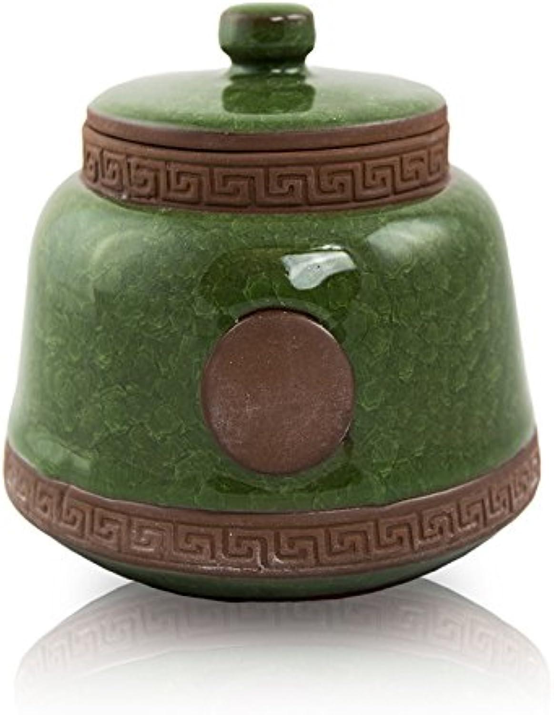 Emerald Ceramic Pet Urn  Small