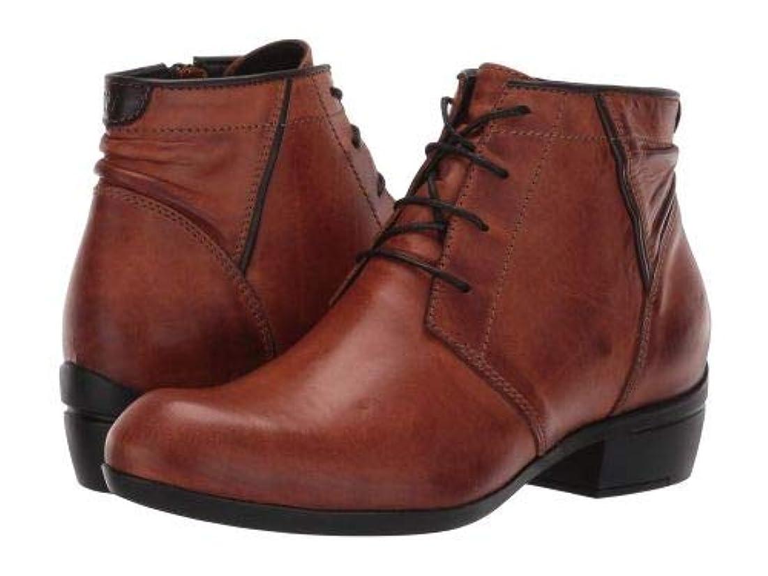 定期的な広まったタバコWolky(ウォーキー) レディース 女性用 シューズ 靴 ブーツ レースアップブーツ El Dorado - Cognac [並行輸入品]
