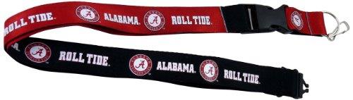 aminco NCAA Alabama Crimson Tide Reversible Lanyard