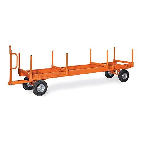 Fetra Langmaterial-Anhänger 2t, 2-Achs-Drehschemel-Lenkung