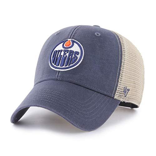 '47Brand NHL Edmonton Oilers Cap Basecap Baseballcap Flagship Trucker MVP