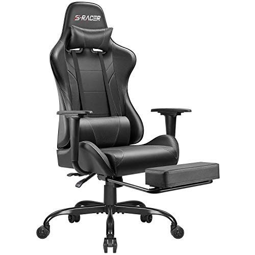 Homall Gaming Chair Computer Office Chair Ergonomic Desk Chair with Footrest...