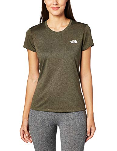 THE NORTH FACE Damen Reaxion Amp T-Shirt, New Taupe Green Heather
