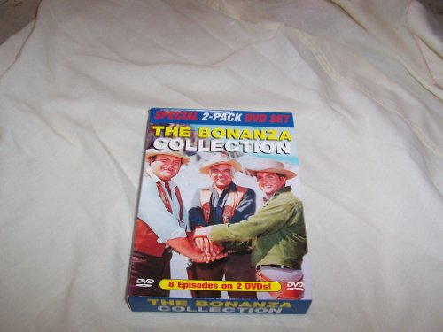 The Bonanza Collection 2-Pack DVD Box Set: Eight Classic TV Episodes on 2 DVDs: Vol 1: The Ape, The Avenger, The Blood Line, & The Fear Merchant; Vol 2: Escape to Ponderosa, Blood on the Land, The Spanish Grant & The Spitfire