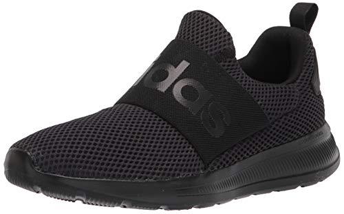 adidas Men's Lite Racer Adapt 4.0 Running Shoes, Black/Black/Black, 11