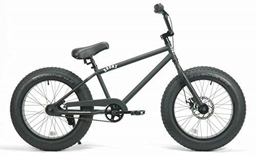 BRONX (レインボー) 20BRONX 20インチ ファットバイク COL:マットブラック×ブラックリム 湘南鵠沼海岸発信