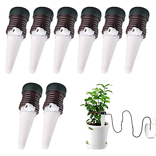 Automatic Plant - Kit de riego automático para plantas (8 unidades, para interiores y exteriores,...