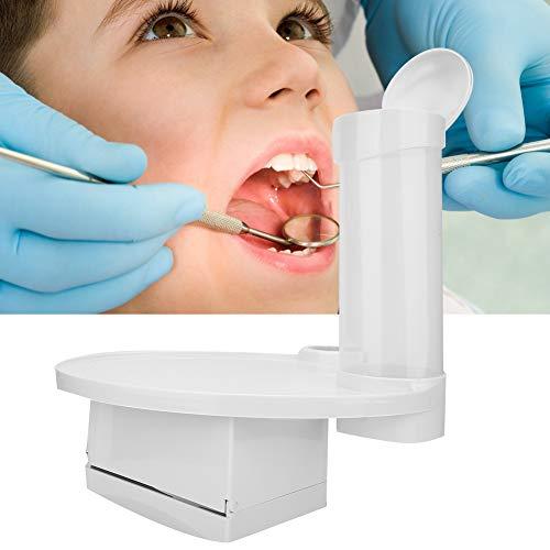 Zahnarztstuhl Tablett Tasse, Stuhl Scaler Tablett für Platz Zusätzliche Einheiten Einwegbecher Aufbewahrungshalter Tissue Box Mundpflege Zahnmedizin Zubehör