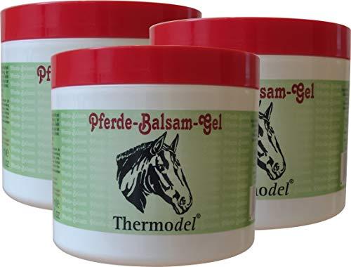 Pferdebalsam | Pferdegel von NAPURA 3er-Set 500 ml | pflegend und kühlend durch etherische Öle