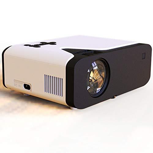 GJZhuan Proyector, UB20 LED 3D portátil Reproductor de Cine en casa de Juegos al Aire Libre de la película del Partido proyector Multimedia HD 720p Micro empresarial Salas de proyectores