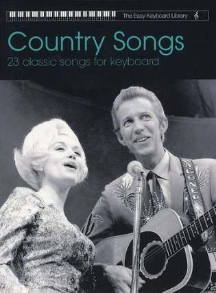 COUNTRY SONGS - arrangiert für Keyboard [Noten / Sheetmusic] aus der Reihe: EASY KEYBOARD LIBRARY