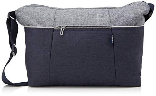 Inglesina Mala com Trocador Day Bag Trilogy Santorini Azul/cinzento-claro