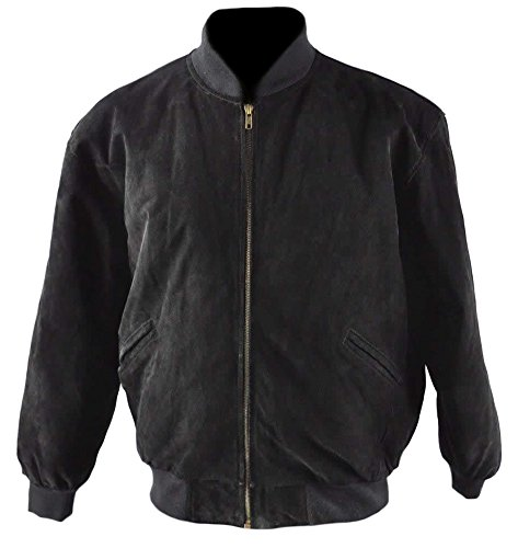 Fashion Black Leather Jackets for Men's