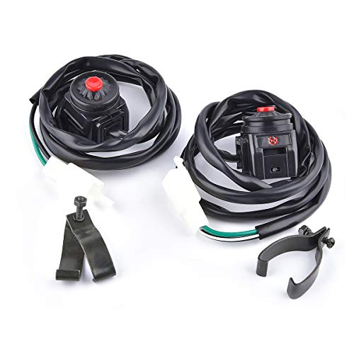 High Performance Kill Switch Universal 2 Wires Motorcycle WR125 YZ80 YZ85 YZ250 YZ450 Kawaki KXF KDX KX 125 KX250 KLX 110cc 125cc Pit Dit Bike