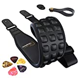 Ultimate Guitar Strap Kit | Premium Electric, Bass, Acoustic Guitar Strap - Soft & Durable Neoprene Guitar Strap w/ 2 Strap Retainers, Strap Button & 5 Guitar Pick Set - Adjustable Strap for Musicians