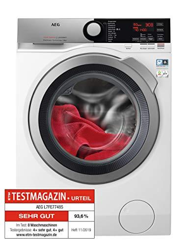 AEG L7FE77485 Waschmaschine / ProSteam -Auffrischfunktion / 8,0 kg / Leise / Mengenautomatik /...