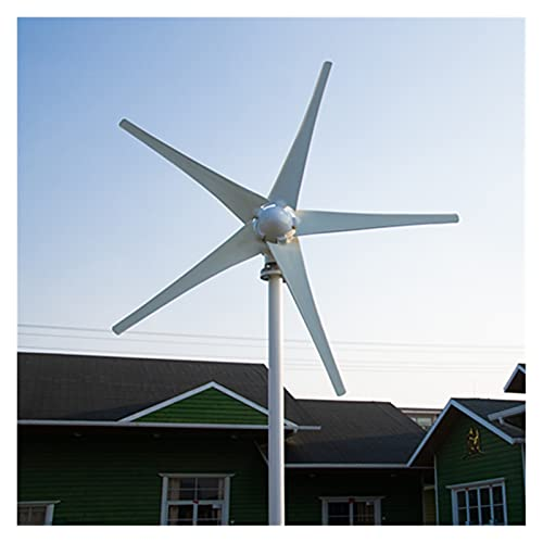 Aerogeneradores Los generadores de energía alternativos de 400W vienen con el controlador de carga opcional 12V 24V Energía solar y eólica (Color : Free Controller, Specification : 3 Blades)