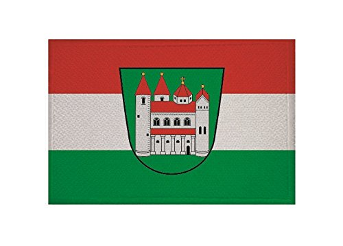 U24 Aufnäher Amorbach Fahne Flagge Aufbügler Patch 9 x 6 cm