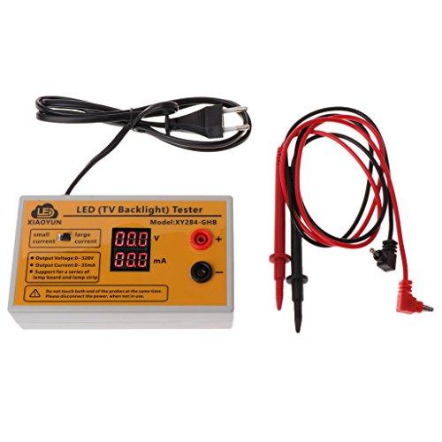 siwetg - Comprobador de iluminación LED para TV (0-320 V, Varios usos)