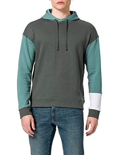 Only & Sons ONSKALLE Life DROPSHOULDER Sweat Hoodie Sudadera con Capucha, Urban Chic, S para Hombre