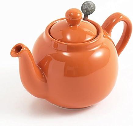 London Pottery ロンドンポタリー ティーポット 2カップ 550ml 英国 ブランド 紅茶 (オレンジ)