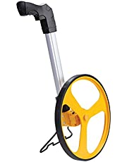 """JCB Measuring Wheel - 12"""" wheel counts upto 10,000 feet. Complete with Built in stand, 22025855"""
