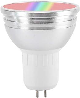 Lilon Slimme wifi-lamp, dimbare 6W RGB ledlamp E27 E26 GU10 GU5.3 B22 RGB Smart Wake-up Light, compatibel met Amazon Alexa...