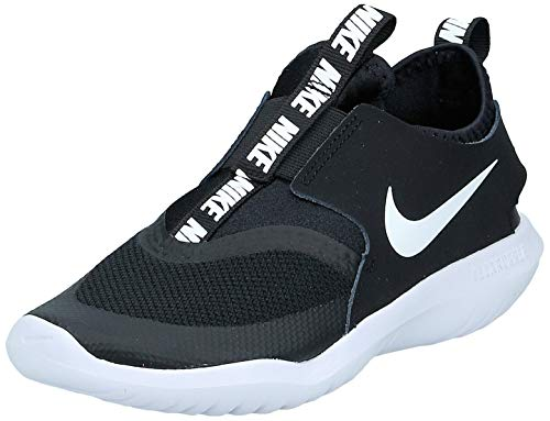 Nike Flex Runner (ps) Leichtathletikschuhe, Schwarz (Black/White 000), 33 EU