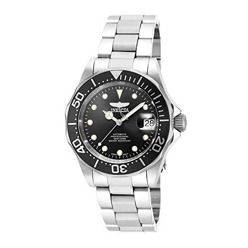 Invicta 17039 Pro Diver Herren Uhr Edelstahl Automatik schwarzen Zifferblat