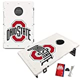Victory Tailgate Baggo All-Weather Cornhole Boards Set, NCAA Classic with Matching Corn-Filled Bags - Ohio State Buckeyes