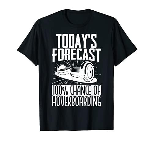 Chance Of Hoverboarding Patín eléctrico de una rueda Camiseta