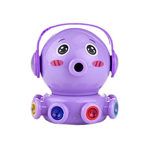 Cartoon Octopus Purple Office School Manual Lovely Pencil Sharpener