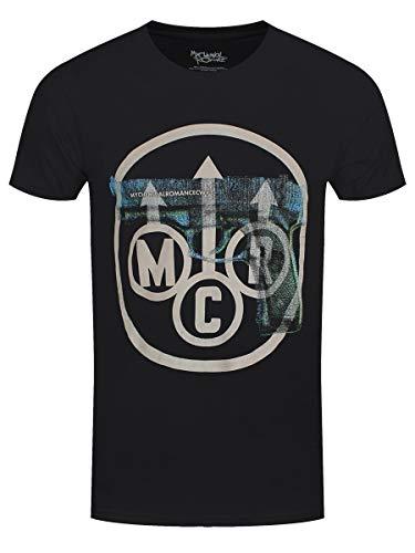 My Chemical Romance - Maglietta da uomo Gunner MCR, colore: Nero Nero L