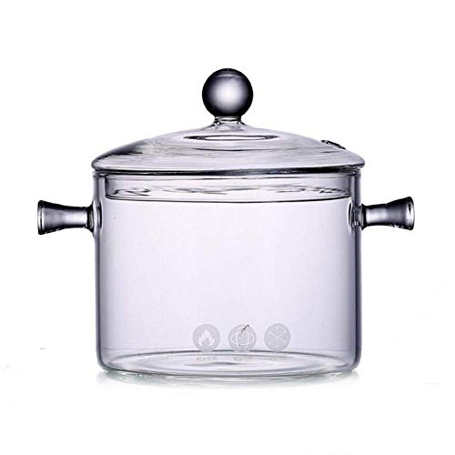 Sopa de Olla, Sopa de Cristal Transparente del Bote de Vidrio Cocina...