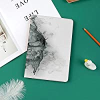 新しい ipad pro 11 2018 ケース スリムフィット シンプル 高級品質 手帳型 柔らかな内側 スタンド機能 保護ケース オートスリープ 傷つけスモーキースカル汚れたダークホラースタイル悪魔悪印刷の現代的なイラスト