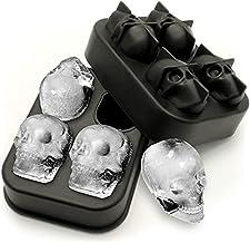 Forma de Gelo de Silicone - Caveira