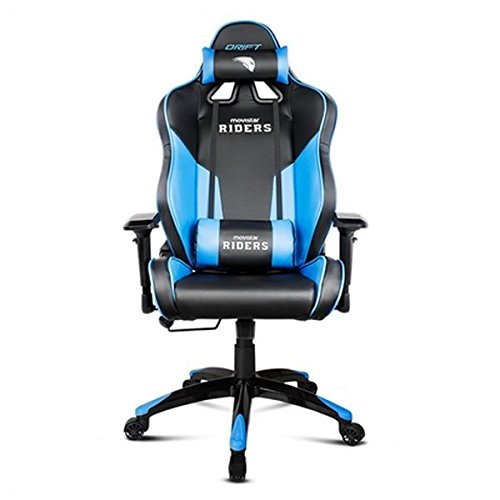 Drift Movistar Riders - DRMRDS - Silla Gaming, Color Negro/Azul