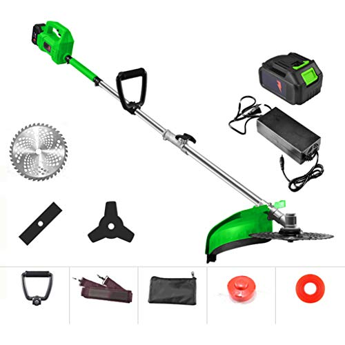 Check Out This SWTY Retractable String Trimmer & Trimmer Lawn, 8000 RPM Copper Wire Motor / 2000mah ...