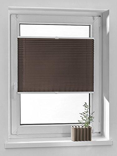 ZZ-1 58 wei/ß Vidella Doppelrollo zebra Fenstermontage 58 cm