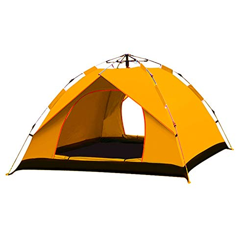 ZZWL dubbele tent, specificaties: 240 x 210 x 135 cm, automatische tent, camping, 2-3 personen, hydraulische koepeltent, waterdicht, dubbele tent