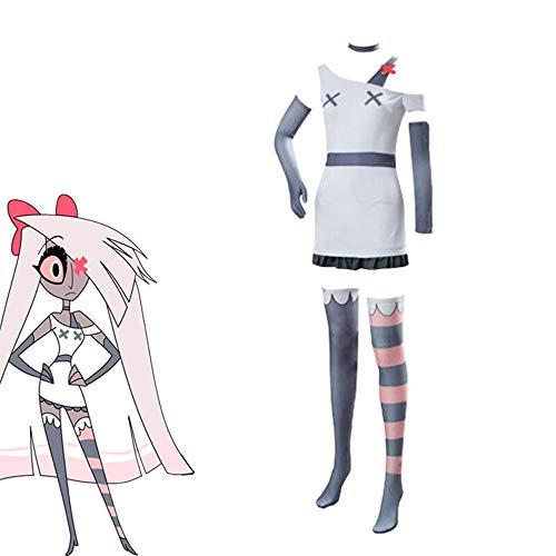 Anime Hazbin Hotel Cosplay aMillie Vaggie aMoxxie aCharlie Uniforme Chaqueta Trajes Conjunto Abrigo Camisa Pantalones Traje Conjunto completo Sudadera de manga larga Disfraz De Fiesta De Halloween