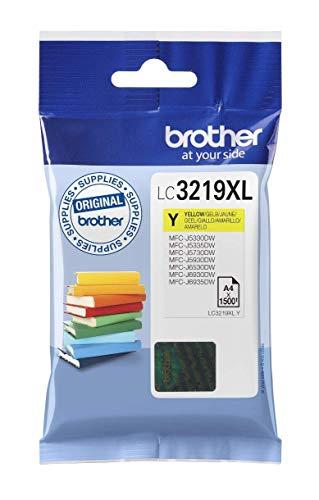 Brother Original XL-Tintenpatrone LC-3219XLY gelb (für Brother MFC-J5330DW, MFC-J5335DW, MFC-J5730DW, MFC-J5930DW, MFC-J6530DW, MFC-J6930DW, MFC-J6935DW)
