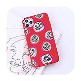 Dibujos animados verano fruta moda diseño lujo teléfono móvil caso caramelo color para iPhone 6 7 8 11 12 s mini pro X XS XR MAX Plus-a2-iphone 12 pro max
