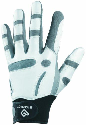 BIONIC Herren Golfhandschuh ReliefGrip, für die rechte Hand/Linkshänder grau grau M