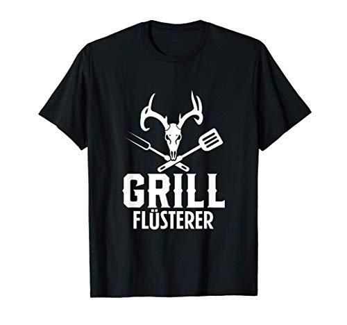 Herren Grill Flüsterer Grillmeister Grillen Grillsaison T-Shirt