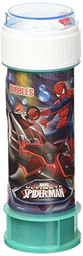 Dulcop 60Ml Spiderman 513000 Bolle di Sapone, Multicolore, 8.00732E+12