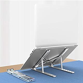 Readian Laptop Stand,Aluminium Alloy Adjustable Height Laptop Computer Stands,Ergonomic Computer Holder Compatible with Ma...