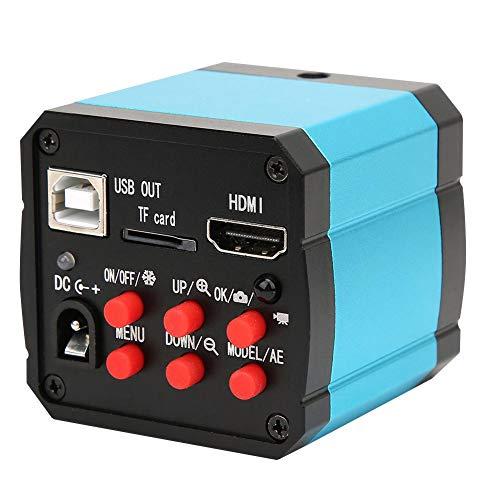 37MP Industriemikroskopkamera,Mikroskop 37MP 1080P 60FPS HDMI USB Industriemikroskopkamera mit Konvertierungsadapter,37MP C/CS Industrial Microscope Camera,viel Zubehör,1,335 μm x 1,335 μm(EU)
