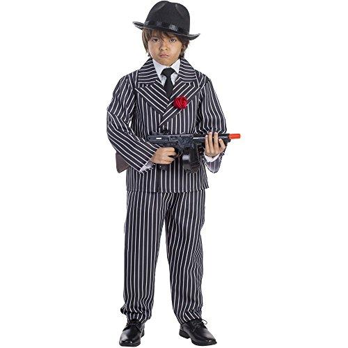 Dress Up America Costume de gangster à rayures enfant